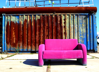 Pink Sofa | by s i b e r