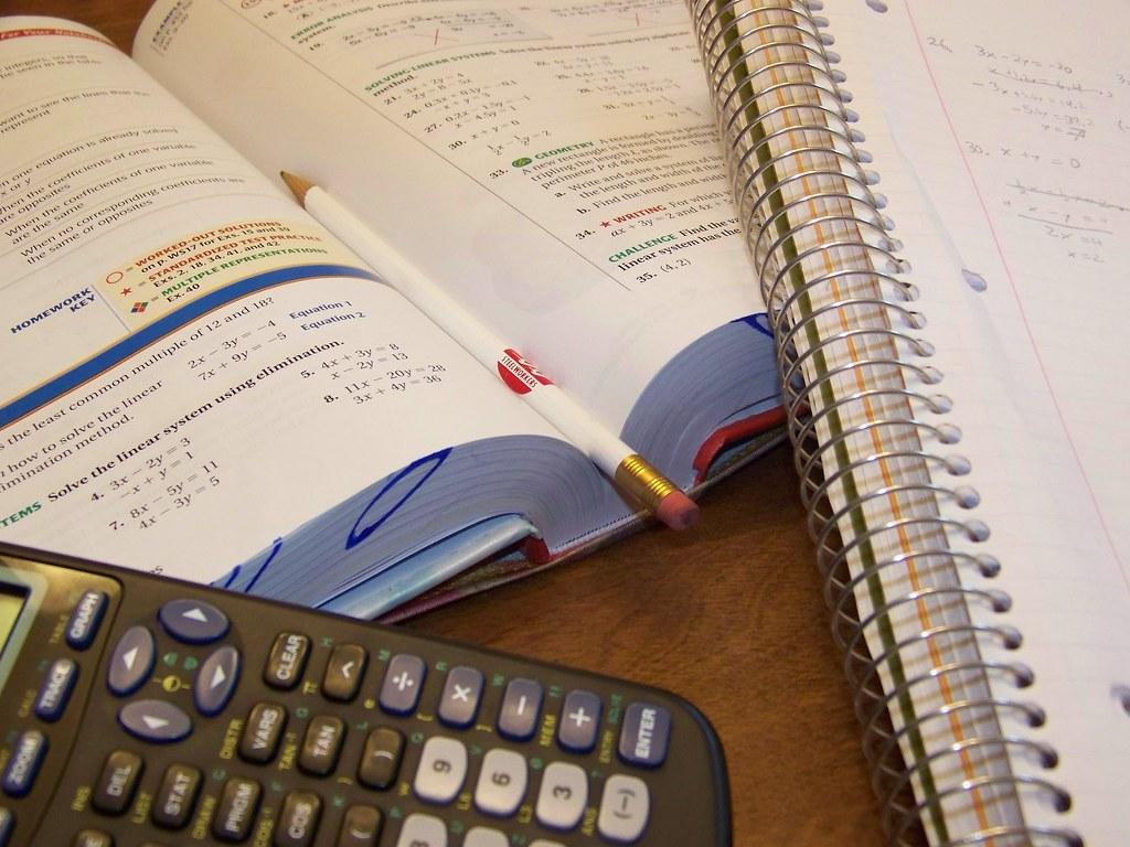 math homework book