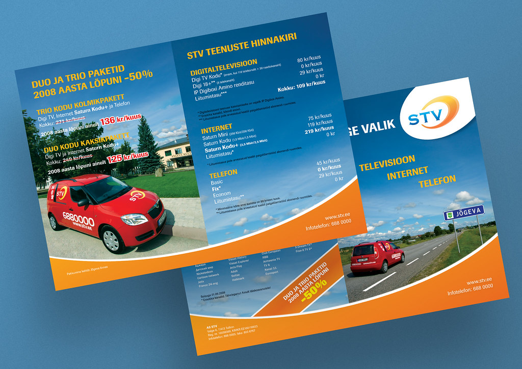 Design And Photographs Of Booklet For Stv Promo Campaign I Flickr