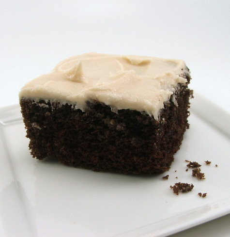 Brown Butter Chocolate Cake