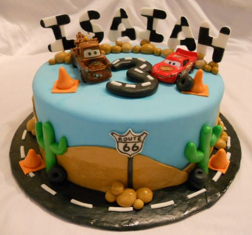 bearheartbaking disney cars cake 1 by bearheartbaking