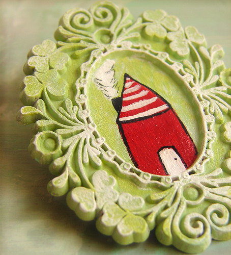 House on the Hill brooch | by jessicajane.love