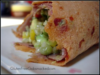 Gluten Free Sun-dried tomato wrap | by Kate Chan