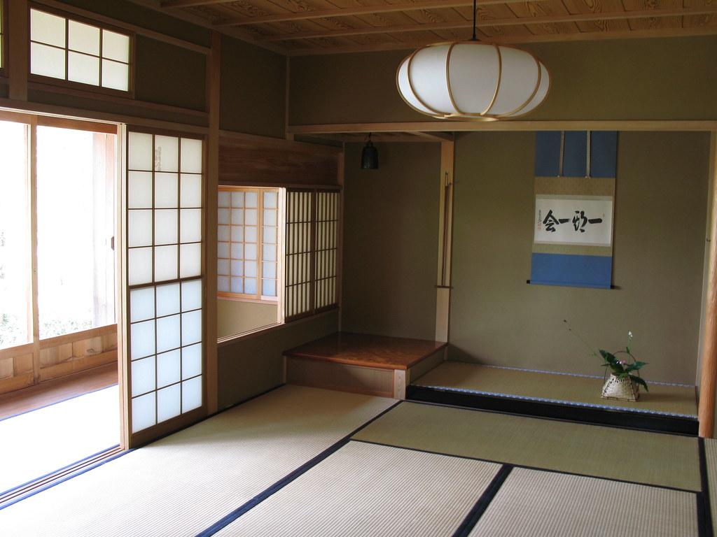... Japanese house traditional style interior design / 和室(わしつ)の内装(ない