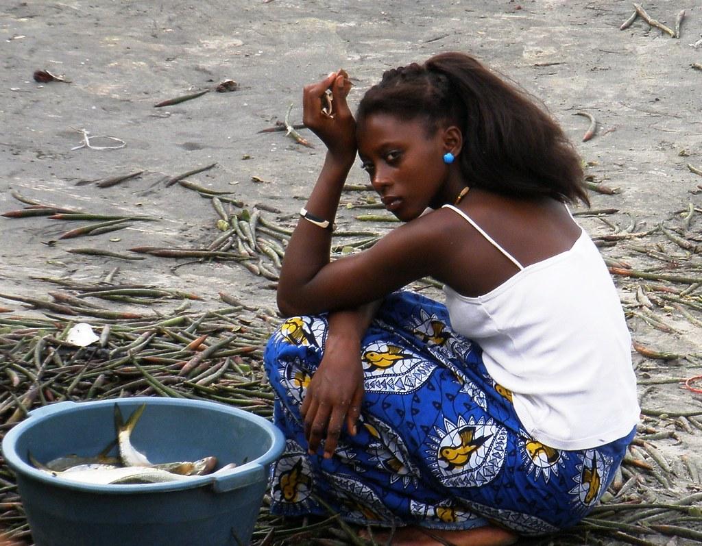 Beautiful gambian women