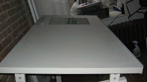 Ikea drafting table w light box 100 less than a year for Ikea drafting table with lightbox