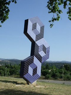 Foundation Vasarely - Aix-en-Provence - sculpture | by ell brown
