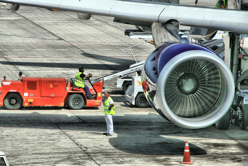 Jet engine, Lanzarote airport | by IDS.photos