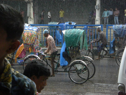Dhaka in the Rain | by olasofia