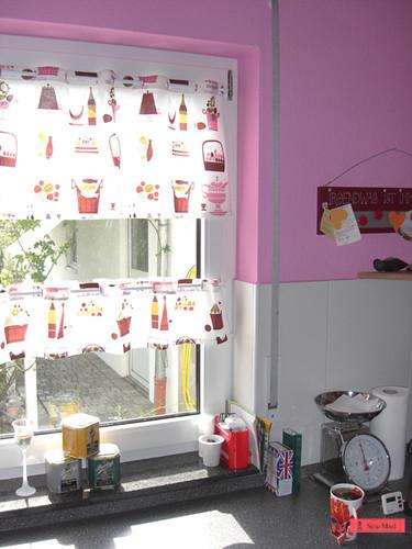 1 Yd Kitchen Curtain Kuchenvorhang Tutorial Blogged Here Flickr