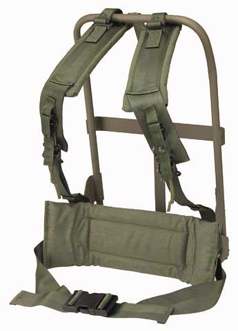 US ARMY ALICE frame, shoulder straps, and kidney pad | Flickr