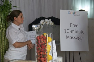 Free 10-minute massage | by Steve Rhodes