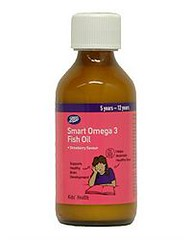 Boots children smart omega chewable fish oil 5 12tuoi for Chewable fish oil