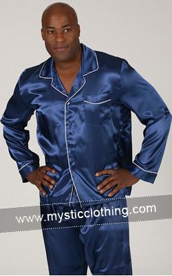 Blue Men's Pajamas