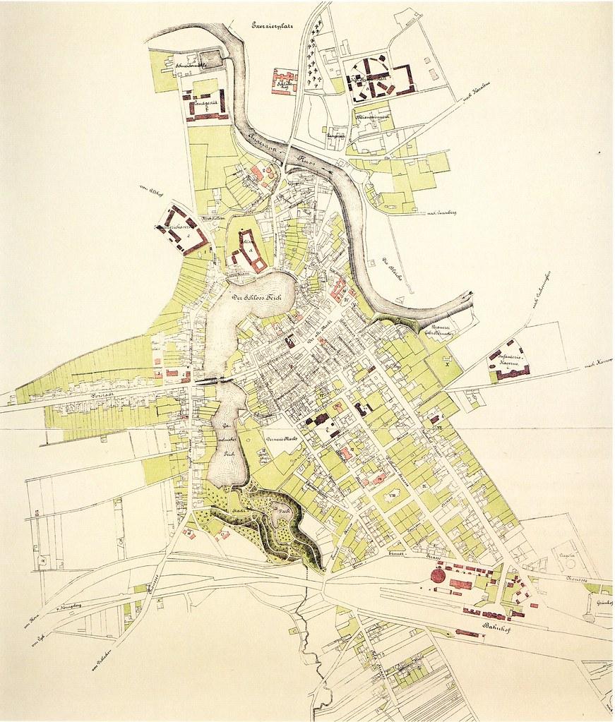 004 Insterburg - Stadtplan 1889 | Stadtplan Insterburg von 1… | Flickr
