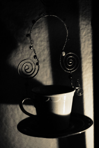 365 329 The Lost Art Of Keeping A Secret: [329/365] Film Noir Teacup