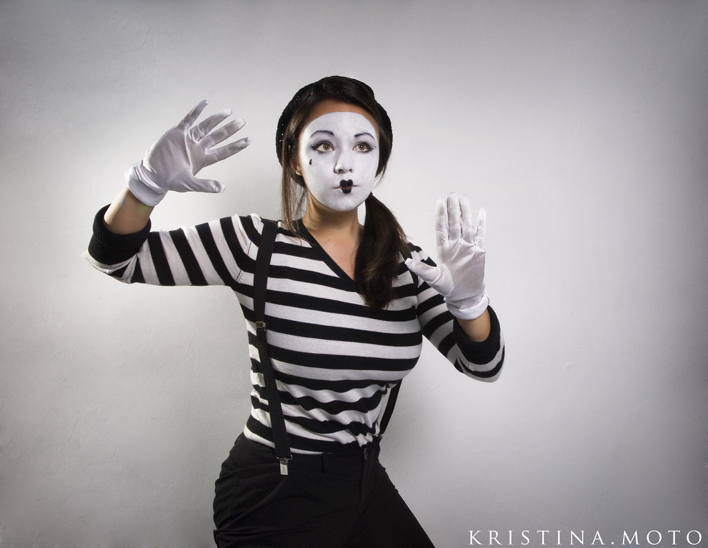 30 365 mime time this is my halloween costume no talki flickr