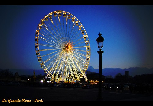 la grande roue paris la grand roue at the foot of champs flickr. Black Bedroom Furniture Sets. Home Design Ideas