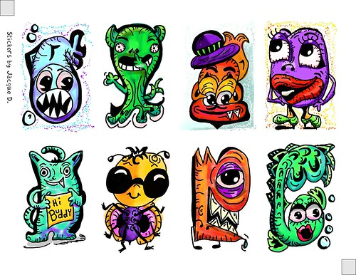 Monster Stickers | by davis.jacque