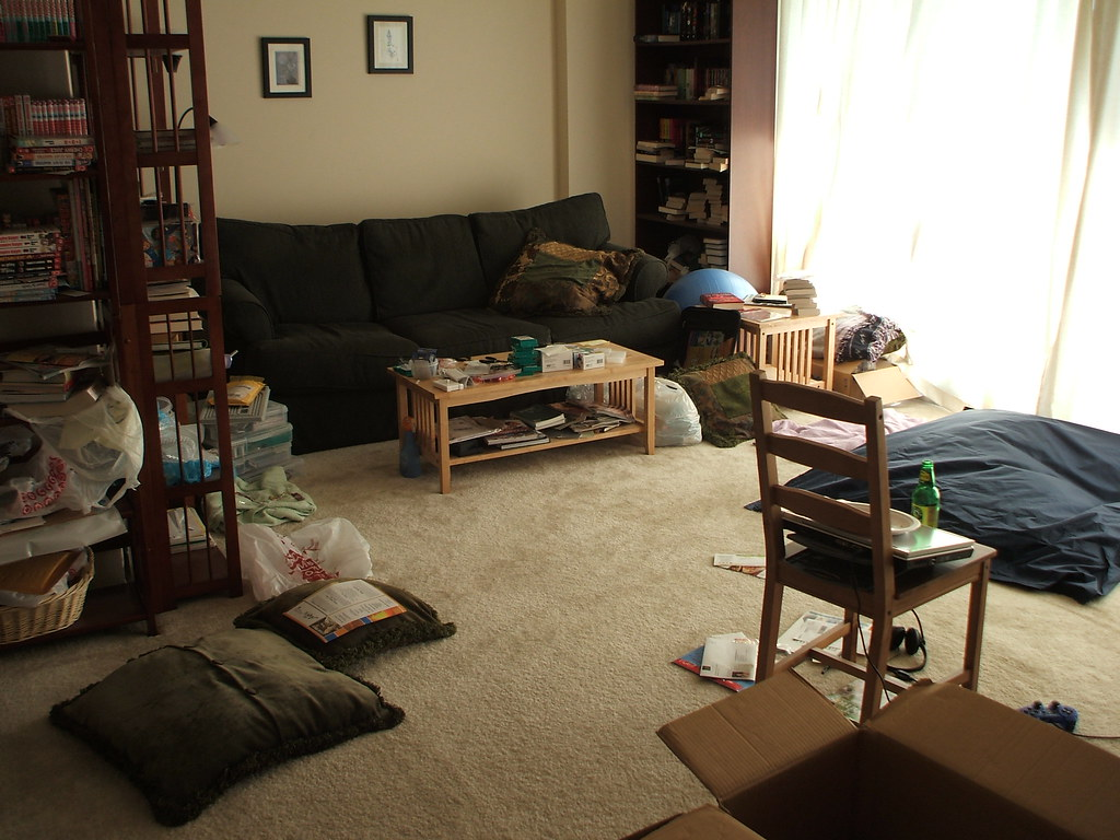 Messy Apartment by SugaWine Messy Apartment