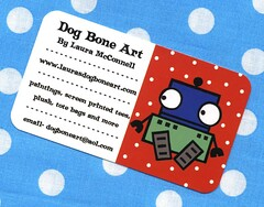 new business cards | by dogboneart