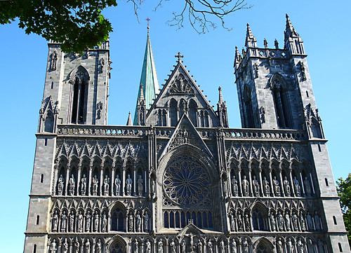 Nidaros Cathedral, The West Front | by randijaa