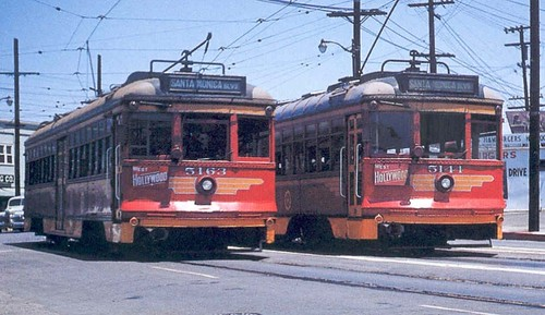 West Hollywood Line Cars | by Metro Transportation Library and Archive