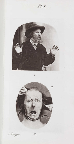 'Fear' from 'The Expression of Emotions in Man and Animals' London 1872.  Charles Darwin (1809-1882) | by National Science and Media Museum