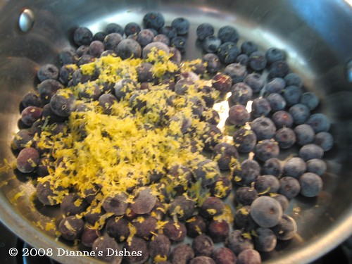 Blueberry Cheesecake: Blueberries | by Dianne's Dishes