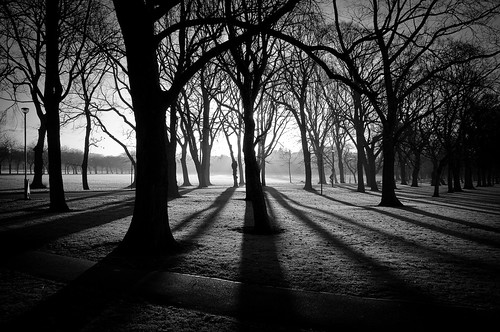 Meadows park B&W - Edinburgh | by loicparent