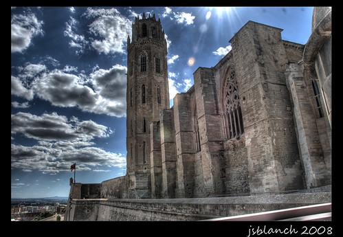 La Seu vella  La Seu Vella de Lleida. Ja va tocant que peng…  Flickr