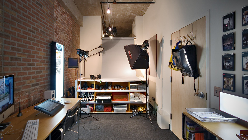 home office studio. New Home Office / Studio | By Brad Gillette