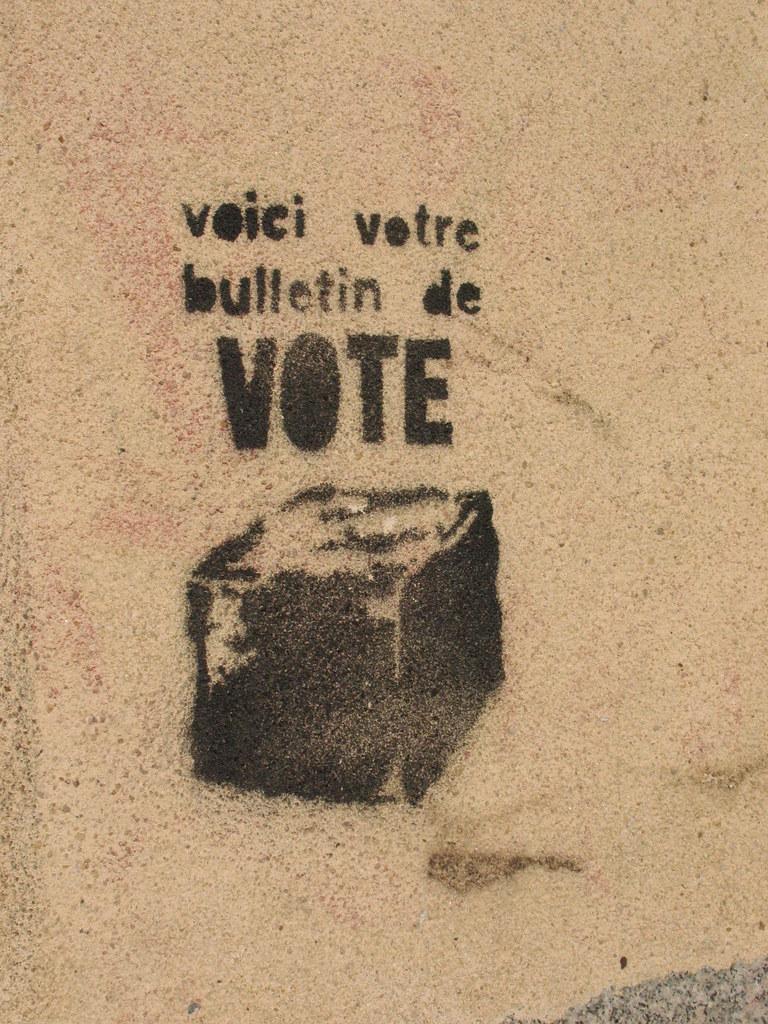 Resultat d'imatges de voici votre bulletin de vote
