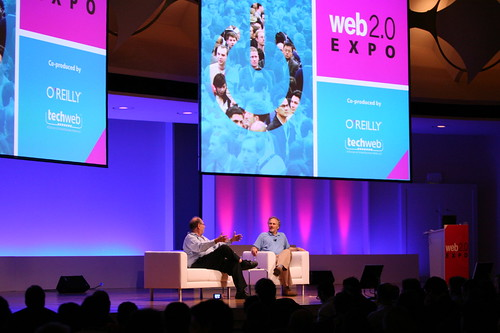 Tim O'Reilly and Yossi Vardi, International Technologies | by Alex Dunne