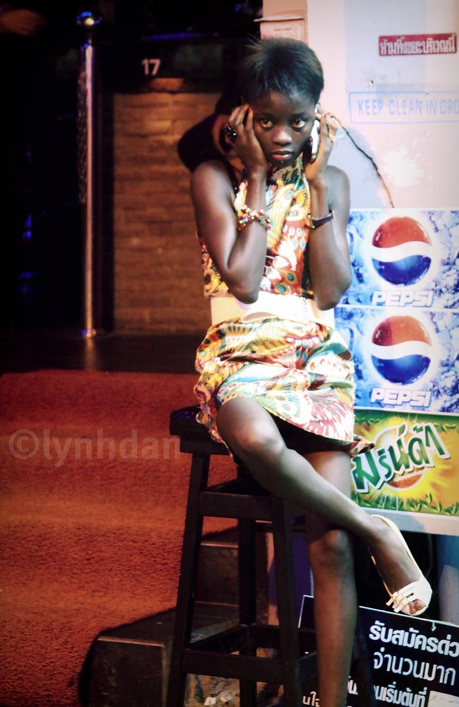 African girls pattaya