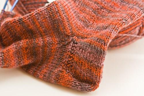Knitting Vintage Socks Nancy Bush : Heel turn i did the german outlined by nancy bush