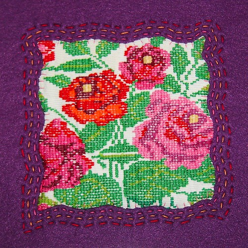Huipil Square with Embroidery | by lachapina