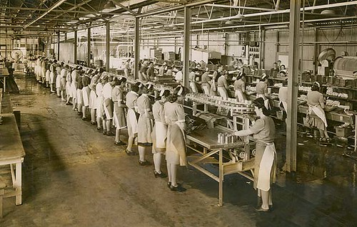 Women working in a cannery | by State Records NSW