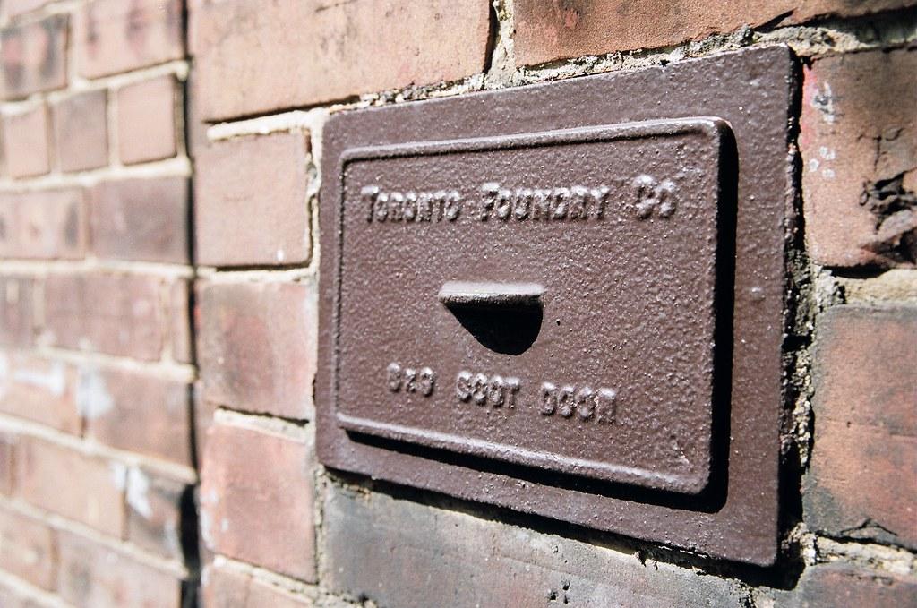 ... Toronto Foundry Soot Door | by Quick fix & Toronto Foundry Soot Door | Quick fix | Flickr