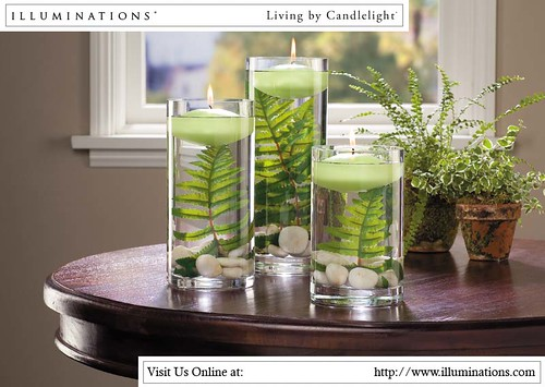 decorating ideas fillable candle holders illuminations