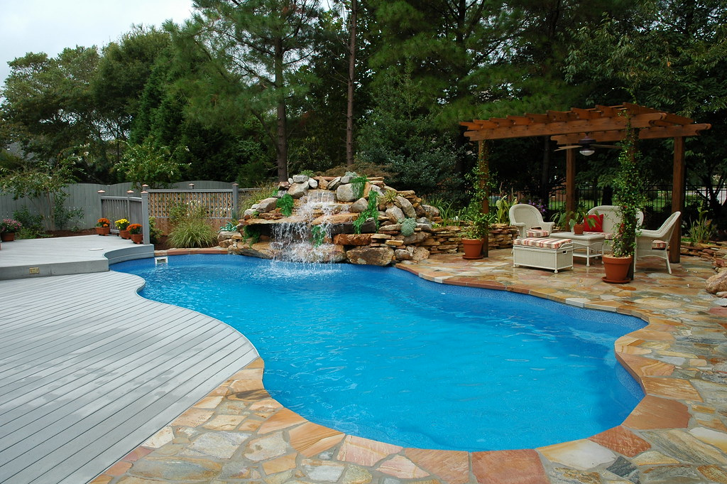 The pool guyz virginia beach va fiberglass pools flickr for A new you salon galax va