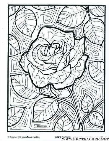 Let S Doodle Coloring Pages