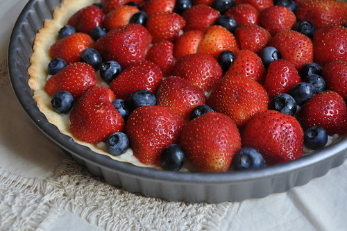 Fresh Strawberry-Blueberry Tart | by Turntable Kitchen
