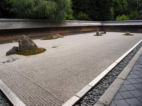 Zen Garden of Ryoan-ji Temple (龍安寺) | by kudumomo