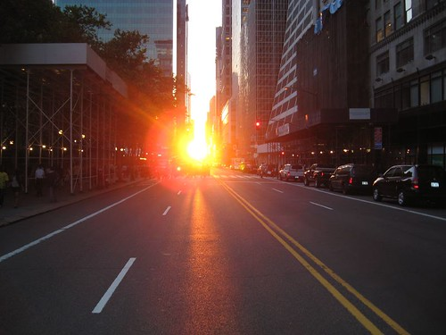 Manhattanhenge | by EffingBoring