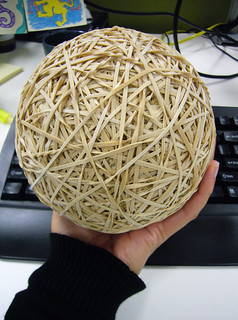 my rubber band ball | by AS500