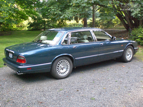 Awesome ... 1996 Jaguar Vanden Plas | By Rustyheaps