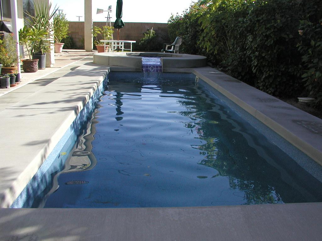 Viking pools santa cruz model inground fiberglass lap pool for Modular lap pool