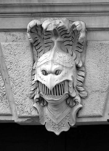 Mascheron grotesque stone carving venezia benth s