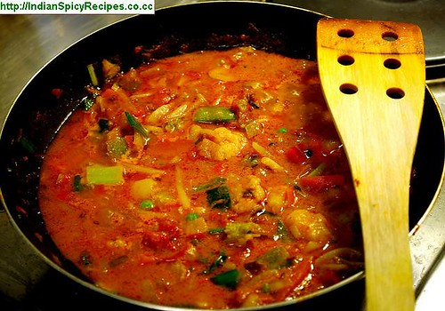 Indian Spicy Recipes - MIX VEGETABLE CURRY ...